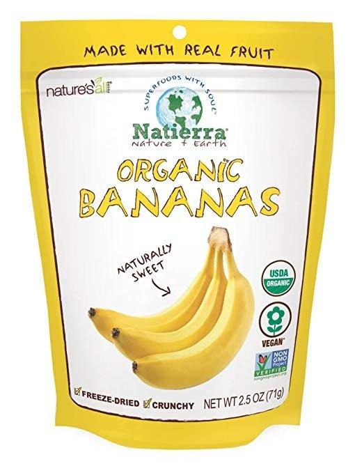 冻干天然香蕉片 2.5 Oz.