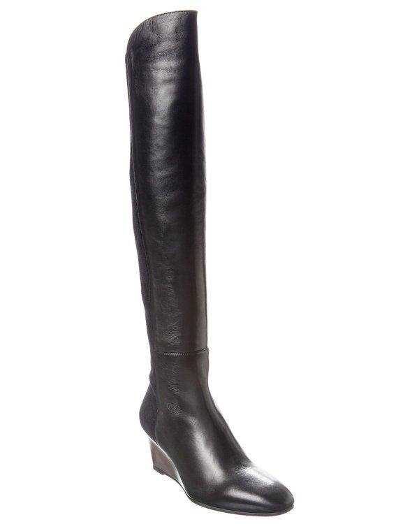 Blaire Leather 过膝靴
