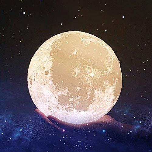 3D月球灯 20cm 20cm