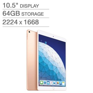 Apple iPad Air (10.5-inch, Wi-Fi, 64GB) - Gold (Latest Model)