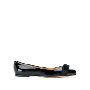Salvatore Ferragamo$250 off $1000Varina Patent Leather Ballet Flats