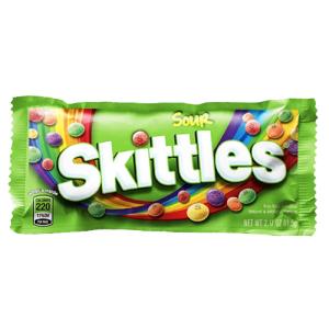 4月30日截止,每人限领一袋Skittles 情人节免费送酸味彩虹糖