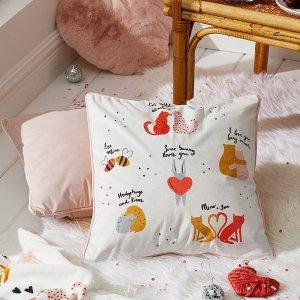 7折起 $9收格子抱枕Simons 高颜值小众抱枕 给家增添一丝温暖色彩 舒服每一天