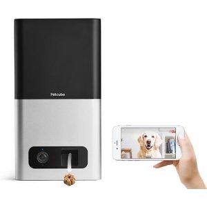 Petcube宠物互动摄像头智能零食投喂器 银色款