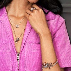 $45收爱心戒指PANDORA Jewelry Pandora Signature系列上新热卖