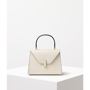 Valextra Iside Mini Bag in White - Women | US Official Store