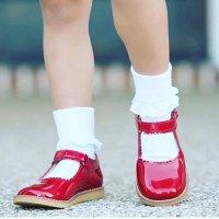 女婴、女童玛丽珍款皮鞋,多色选
