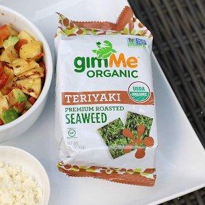 gimMe Snacks 有机照烧味海苔脆片 17oz 20包
