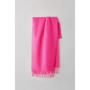 Accessories玫粉色围巾