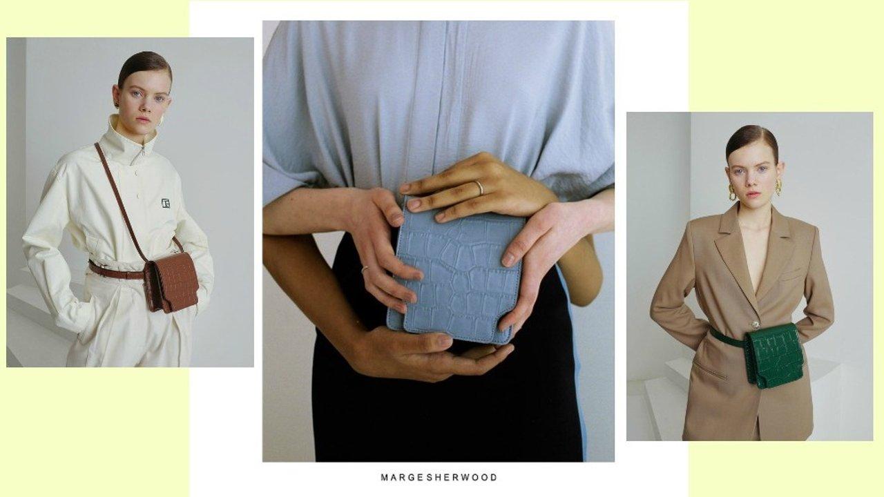 一个包包可以变换5种造型?了解下来自韩国小众品牌Marge Sherwood的复古摩登