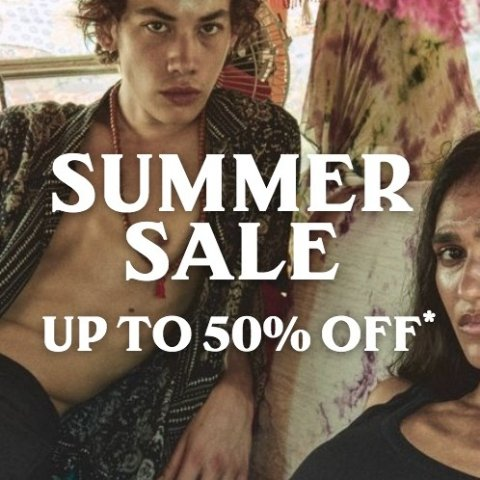 5折起 £24收T恤上新:AllSaints 夏季大促开始 新款经典款都参与 连衣裙、皮衣上新