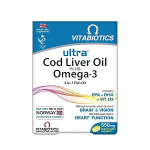 Vitabiotics鱼肝油-60片