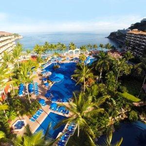 $95起 赠最高 $500 度假村消费墨西哥巴亚尔塔港5星 Barceló 一价全包酒店