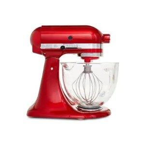 KitchenAid KSM155GB 透明玻璃碗搅拌机