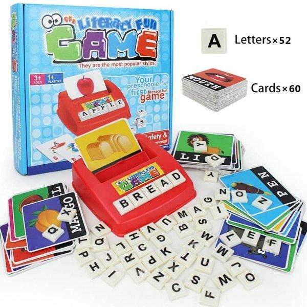 HAPTIME 儿童早教单词拼写玩具