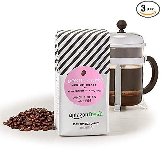 AmazonFresh 中烘焙咖啡豆 12oz 3包