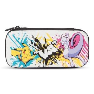 $8.99 带超萌毛巾PowerA Pokemon Nintendo Switch Lite 皮卡丘 支架收纳包