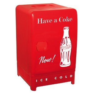 Koolatron可口可乐复古冰箱