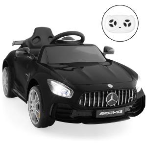 $159.99+包邮 黑白粉色可选Mercedes 官方授权复刻 12V 儿童电动车 家长可遥控