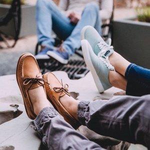 低至4折 收百搭小白鞋Sperry 年中大促 好穿美鞋热卖