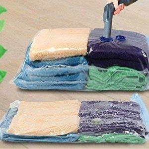 低至7折 £1/个Amazon 真空收纳压缩袋 旅行用 回国打包行李好物