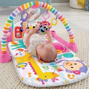低至8折宝宝健身毯、跳跳椅、游戏床等特卖
