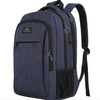 $30.59(原价$37.99)Matein 15.6吋 笔记本电脑双肩背包