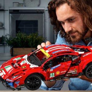 定价£169.99上新:Lego 法拉利 488 GTE 官网已上架42125 车迷必备