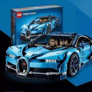 $479(原价$599)LEGO乐高 布加迪 Chiron超级跑车42083