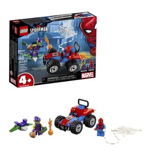 LEGO Marvel Spider-Man Car Chase 76133 Building Kit (52 Piece)