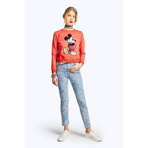 Marc JacobsShrunken Sequin Mickey Sweatshirt | Marc Jacobs