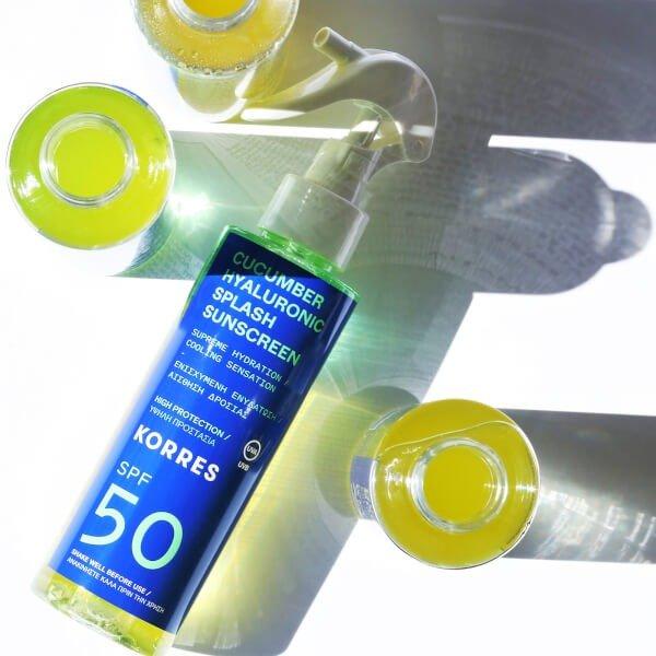黄瓜玻尿酸防晒霜 SPF50 150ml