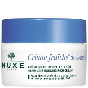 Nuxe Creme Fraiche de Beaute 48HR Moisturising Rich Cream for Dry to Very Dry Skin 50ml