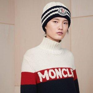 8折+定价优势Moncler 新款时尚单品热卖,经典毛球帽$220