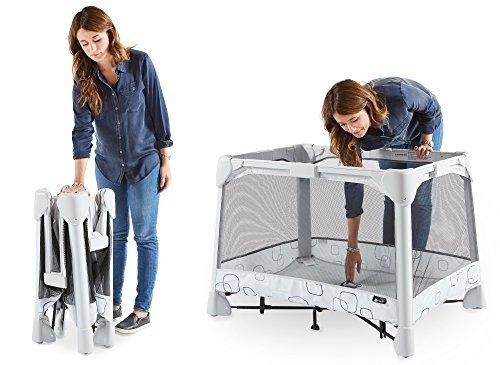 经典款可折叠游戏床+可拆卸睡篮