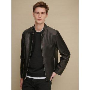 Wilsons LeatherMatthew Moto Leather Jacket