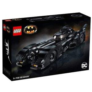 $379(原价$399)罕见现货LEGO乐高 1989蝙蝠侠战车 76139