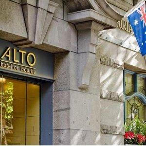 $165起(原价$314)墨尔本Alto Hotel 2天1夜+早餐4星级生态公寓酒店体验价