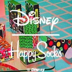 小米奇拍了拍你 €13.95收长筒袜Happy Socks X Disney 迪士尼联名萌袜发售 童年快乐来抢钱啦