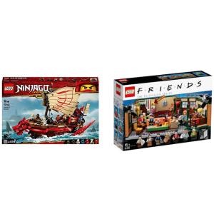 $112起(原价$123)LEGO Ninjago 命运赏金号 + Idea 老友记闪促