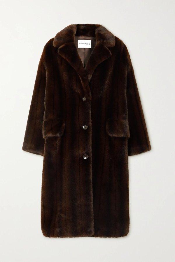 Theresa faux 泰迪大衣