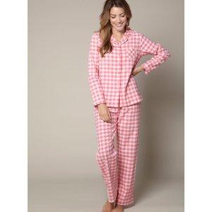 Gingham Pyjamas In A Bag 睡衣