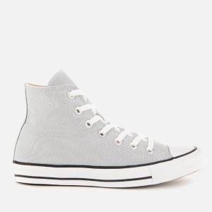 Converse灰色高帮帆布鞋
