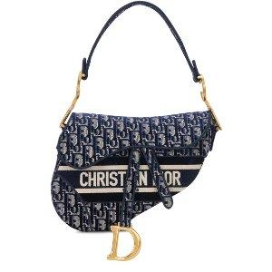 Dior经典马鞍包