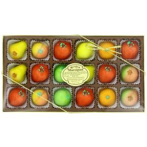 $7.54 包邮Bergen Marzipan 综合水果口味糖果 水果造型 18颗装