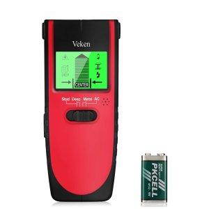 $14.24(原价$18.99)Veken 4合一多功能木桩探测器