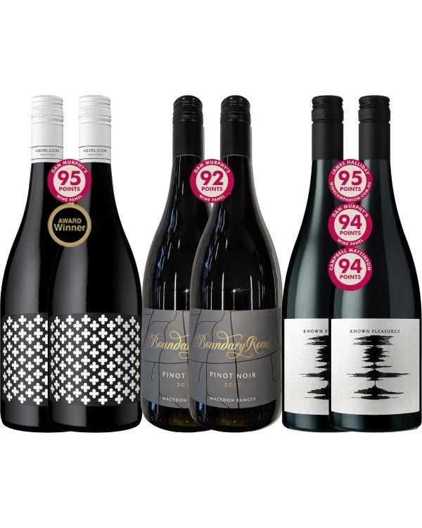 高评分葡萄酒x6
