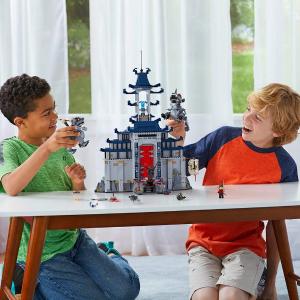 $77.97(原价$129.99)LEGO Ninjago Movie系列 传说中的无敌武器神殿 70617