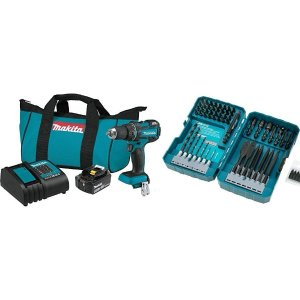 Today Only:$135.74Makita XFD061 18V LXT Lithium-Ion Compact Brushless Cordless 1/2