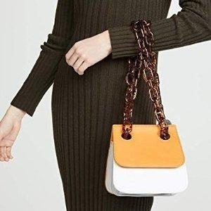 低至$22收亚克力玳瑁链条单肩包Studio 33 精选时髦小众包 环包袋也时尚